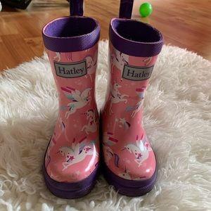 Hatley Unicorn Rainboots